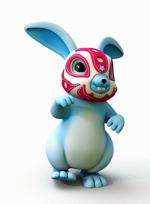 lucha rabbit