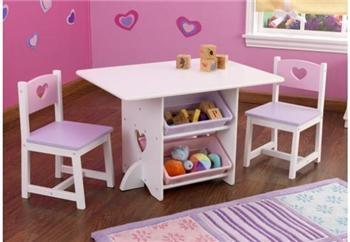 KidKraft Praktisk lekebord med oppbevaring