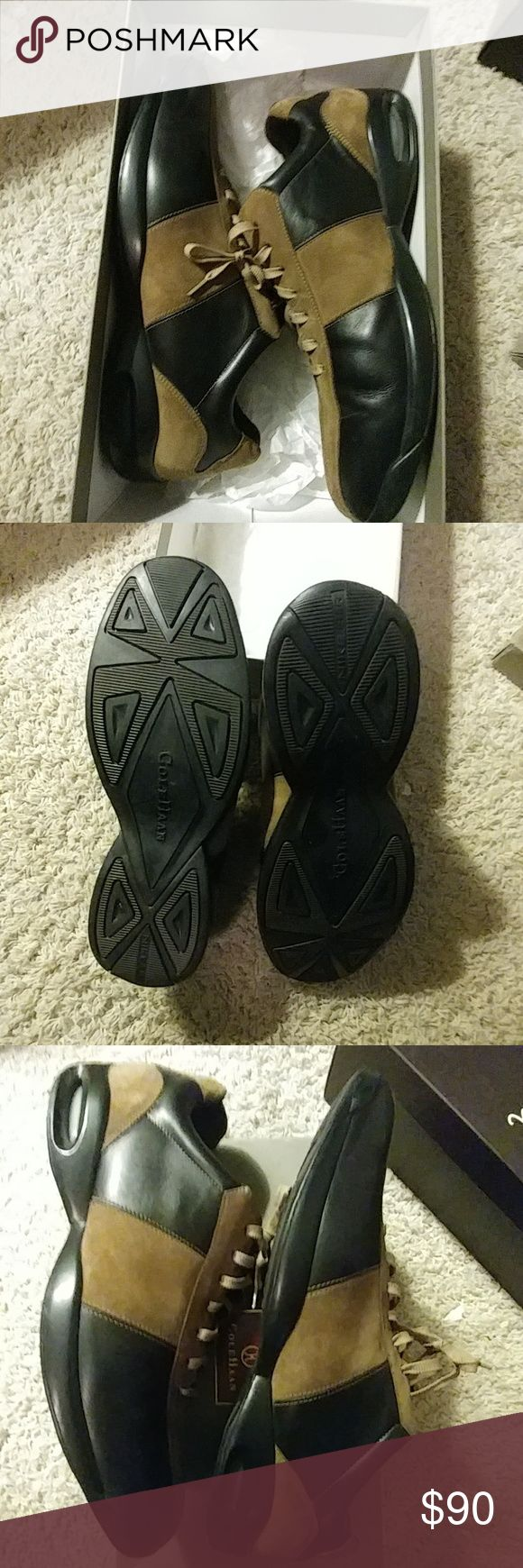 Cole Hann Leather and Suede Shoes Shoes