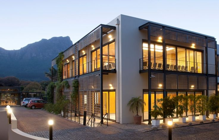 With over 200 years of history within its walls, this deluxe hotel is situated in seven acres of attractive landscaped parkland on the banks of the Liesbeek River.