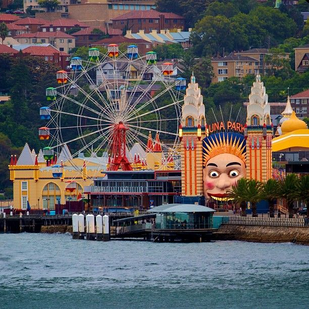 You should never miss a visit at Luna Park when you're in Sydney. *Luna Park #Sydney #Australia http://www.travelmagma.com/australia/things-to-do-in-sydney/