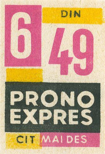 Romanian matchbox label by Shailesh Chavda, via Flickr