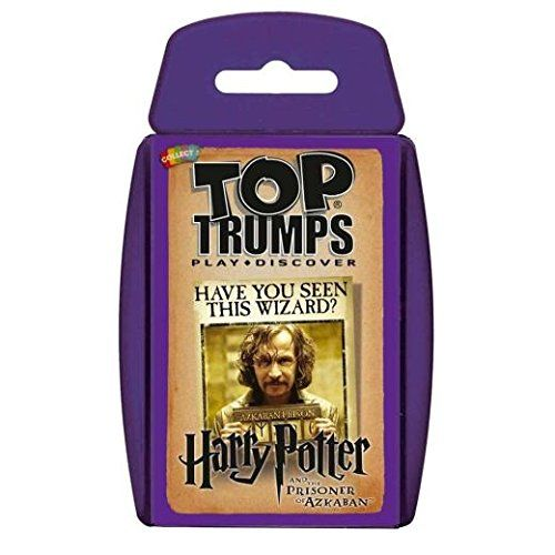 Top Trumps - HARRY POTTER AND THE PRISONER OF AZKABAN (Dispatched From UK) @ niftywarehouse.com #NiftyWarehouse #HarryPotter #Wizards #Books #Movies #Sorcerer #Wizard