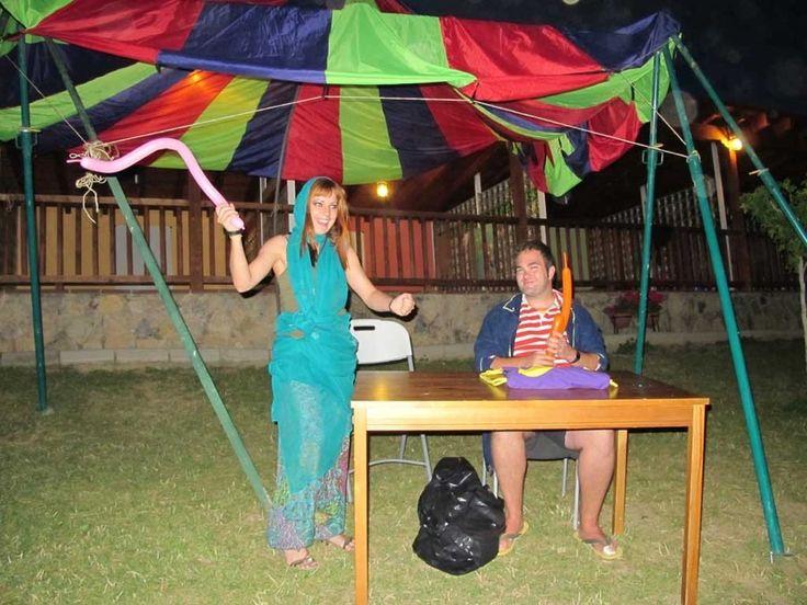 Galería de fotos » Veladas nocturnas - Noche de circo | GMR summercamps