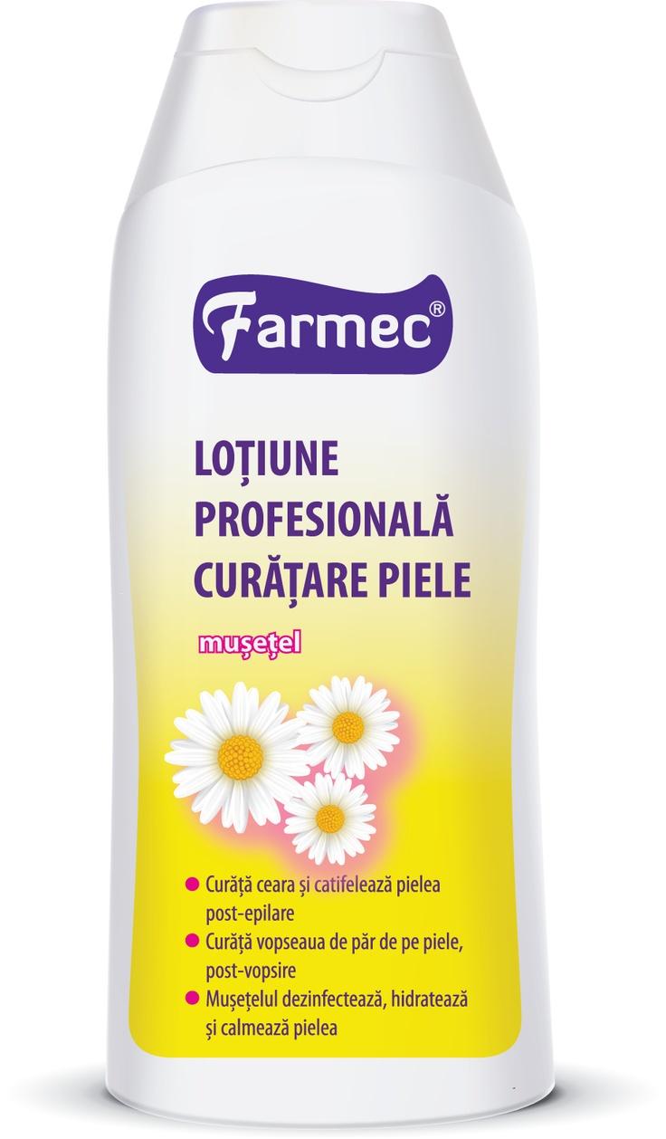 DEPILATOAREA NR.1 ÎN ROMÂNIA    Calcul Farmec pe baza rapoartelor în volum Nielsen pentru categoria Depilatoare (perioada Ian – Dec 2012), din total piaţă din România. (Copyright © 2013, The Nielsen Company)
