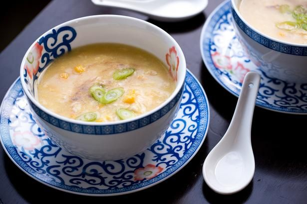 Sachie Nomura's Sweet Corn Chicken Soup recipe - Viva