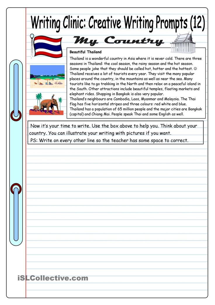 writing prompts for esl students 34 new creative writing topics for grade 5 students are designed especially to inspire new thoughts and ideas in  30 fiction writing prompts for elementary students.
