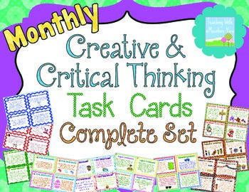Eyfs creativity and critical thinking card