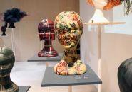katsuya kamo exhibits 100 couture headpieces