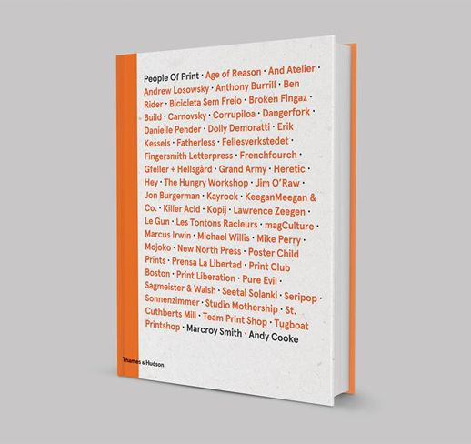 People of print book