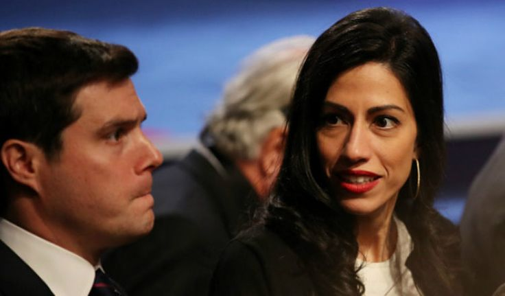 Huma Abedin's lawyers are negotiating with the FBI about conducting a full search on estranged husband Anthony Weiner's laptop in light of the new probe into Hillary Clinton's emails. Looks like the FBI is going to sort through 650,000 Weiner emails, thousands of which may have gone through Hillary
