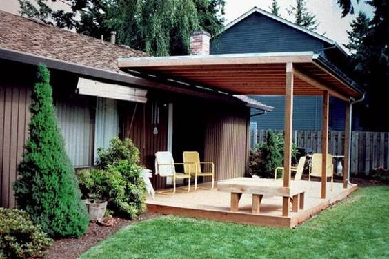 Attractive Roof Over Patio Ideas Build Your Own Patio ... on Deck Over Patio Ideas id=32837