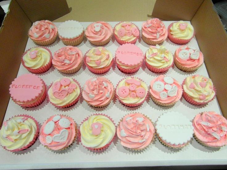 Gallery - Fondant Fantastic: Christening cupcakes