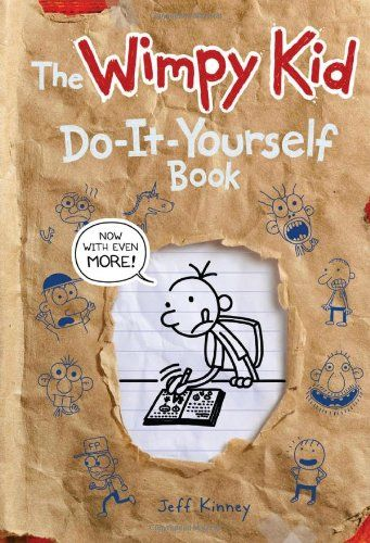 46 best diary of a wimpy kid images on pinterest diaries diary of the wimpy kid do it yourself book revised and expanded edition diary of a wimpy kid hardcover by jeff kinney solutioingenieria Choice Image