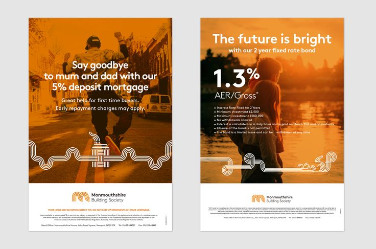 Our work for Monmouthshire Building Society. Design | Branding | Graphic Design | Finance Branding