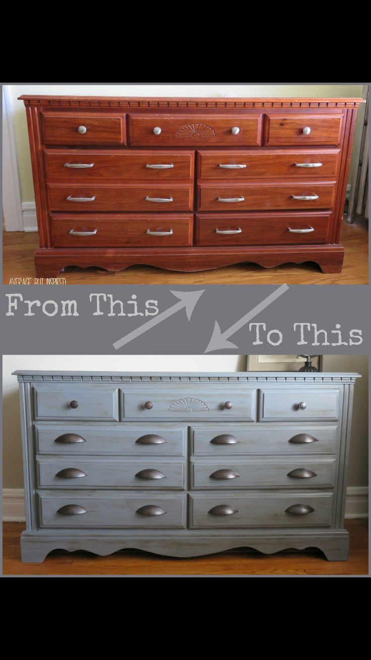 Dresser makeover with Americana Decor Chalky Finish Paint   Average But  Inspired I saw this paint at a c Moore. 21 best Art Deco dresser ideas images on Pinterest   Dresser ideas