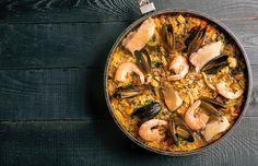 Arroz de frutos do mar do chef Olivier Anquier