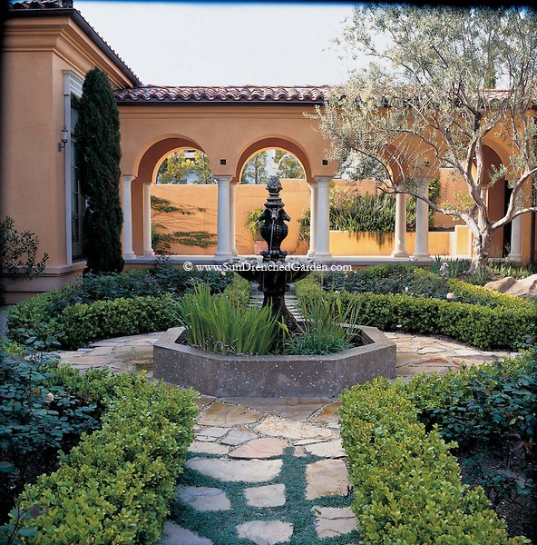 Mediterranean Style Courtyard: 59 Best Old Meadows Mediterranean Court Yard Images On
