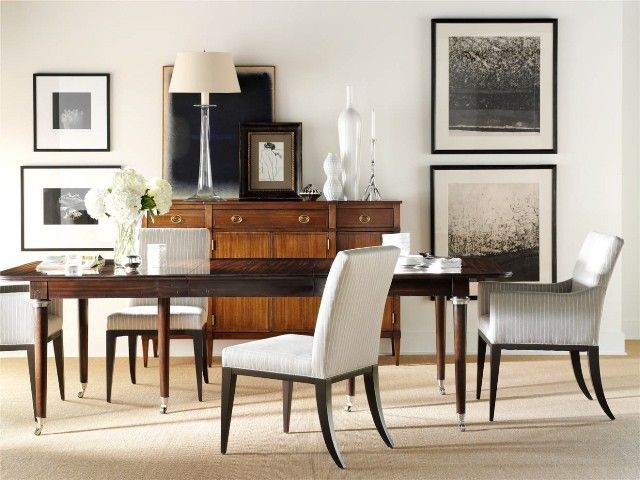 Off White Dining Table Part - 50: Cognac With Black And White