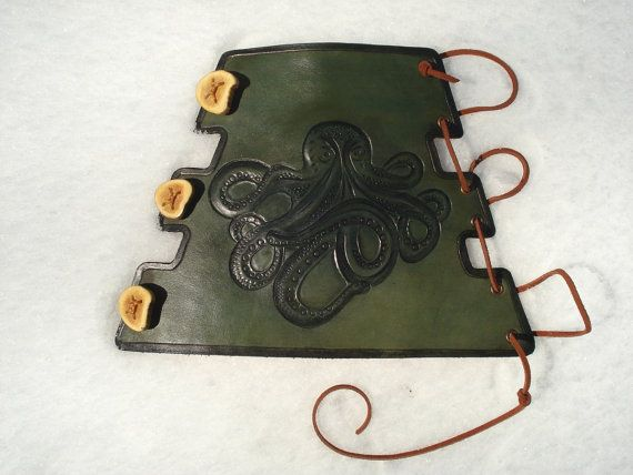 Take up archery again... Archery Arm Guard by MadeOfLeather on Etsy