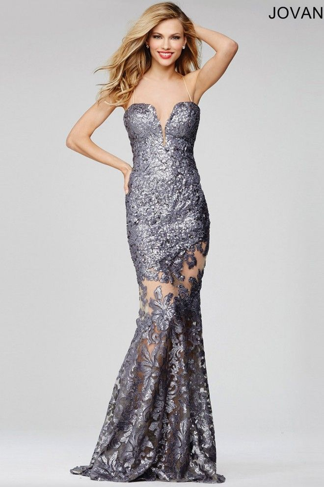Radiant sexy sweetheart neckline  metallic fully lined long prom dress with a…