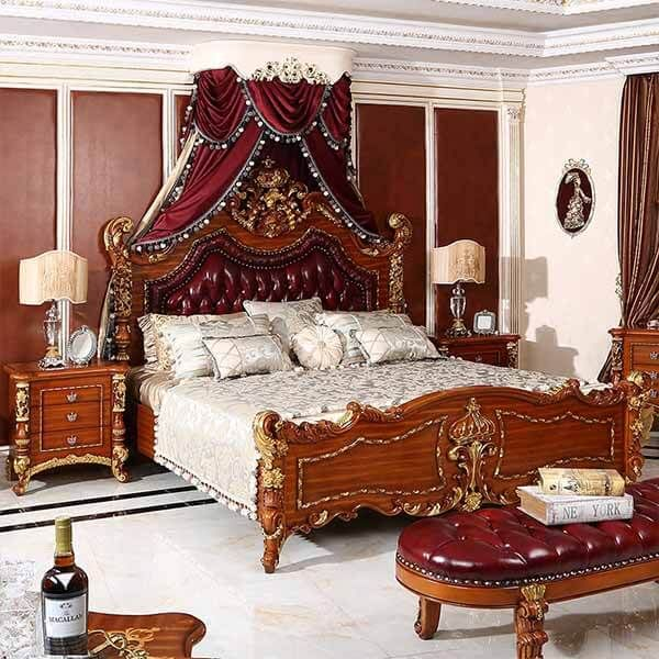 High End Antique Royal Bedroom Furniture 0114 | Oe-fashion ...