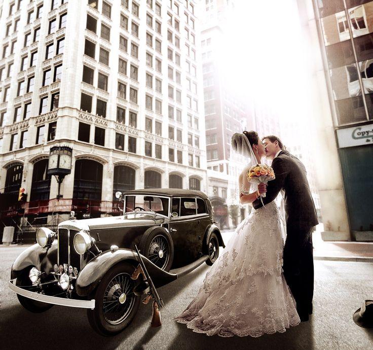 Gangster Wedding Theme...