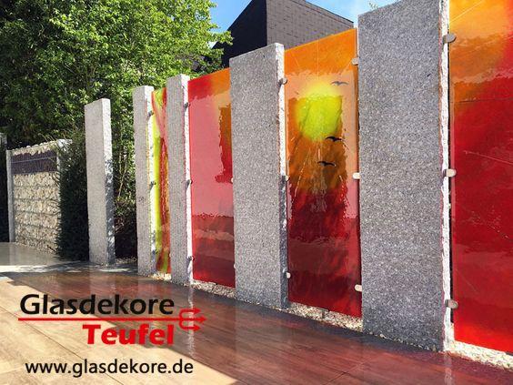 Die besten 25 sichtschutz glas ideen auf pinterest sichtschutz terrasse glas sichtschutz aus - Trennwande garten edelstahl ...
