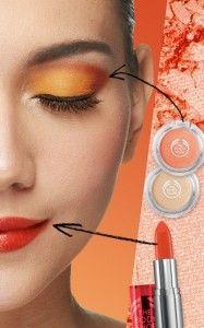 Be My Clementine..  Riasan warna orange memberikan efek yang ceria & segar. Gunakan nuansa corals & nudes dari koleksi Colour Crush. Let's get fun and fresh!