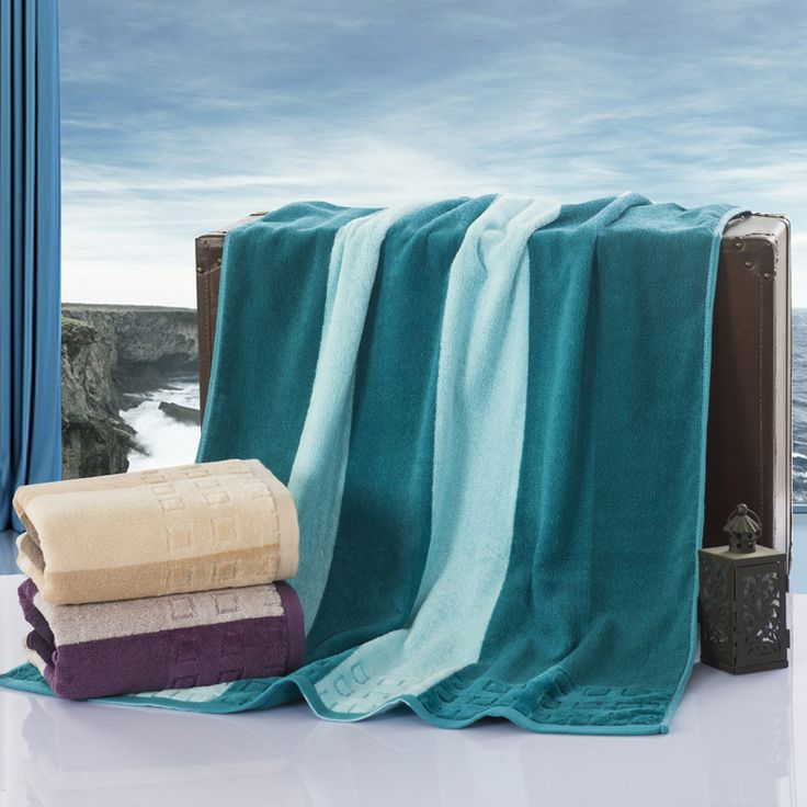 Hot sale High quality New fashion 100% cotton Beach towel bath towel Dream bath towel Size: 70*140cm #Affiliate