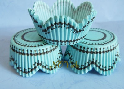 Tiffany Blue Cupcake Liners :)