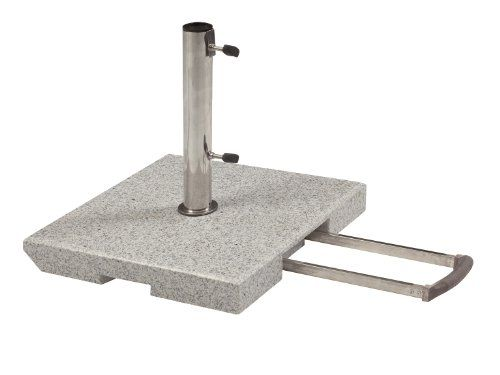 http://ift.tt/1ZoXZLn Doppler 40 kg Granit Schirmständer mit Rollen und Trolleyfunktion ##s