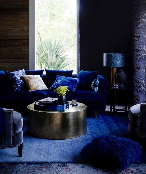 Styling by Stephanie Powell for Home Beautiful Magazine. Featured: GlobeWest Furniture #homebeautiful #globewest #velvet #jeweltones #interior #decor #luxe #classic
