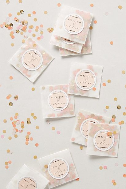 Luminous Table Confetti - anthropologie.com @qvendellaraen  Soo you may need this! I just found out they have a whole wedding section!