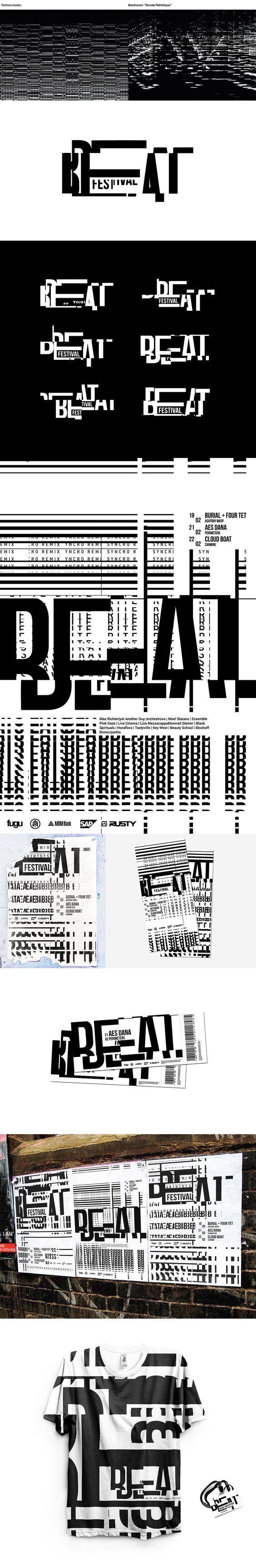 Beat Festival Branding on Behance | Fivestar Branding – Design and Branding Agency & Inspiration Gallery