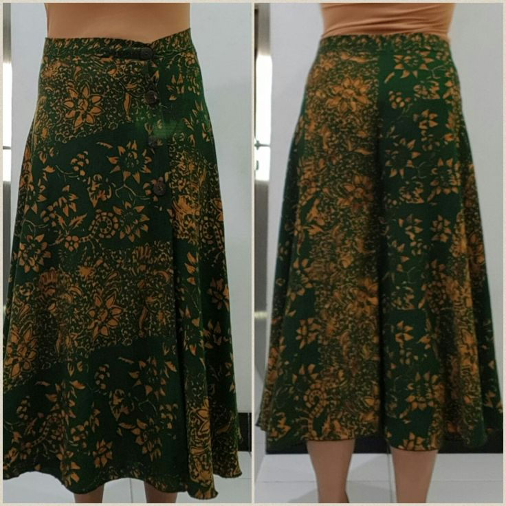 Self-made cullotes skirt