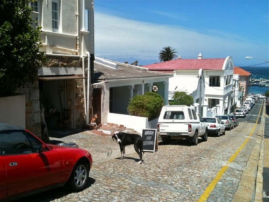 Kalk Bay. Village street