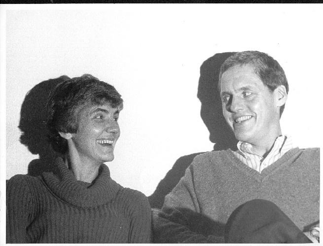 Min mor og far. Billede fra ca. 1980