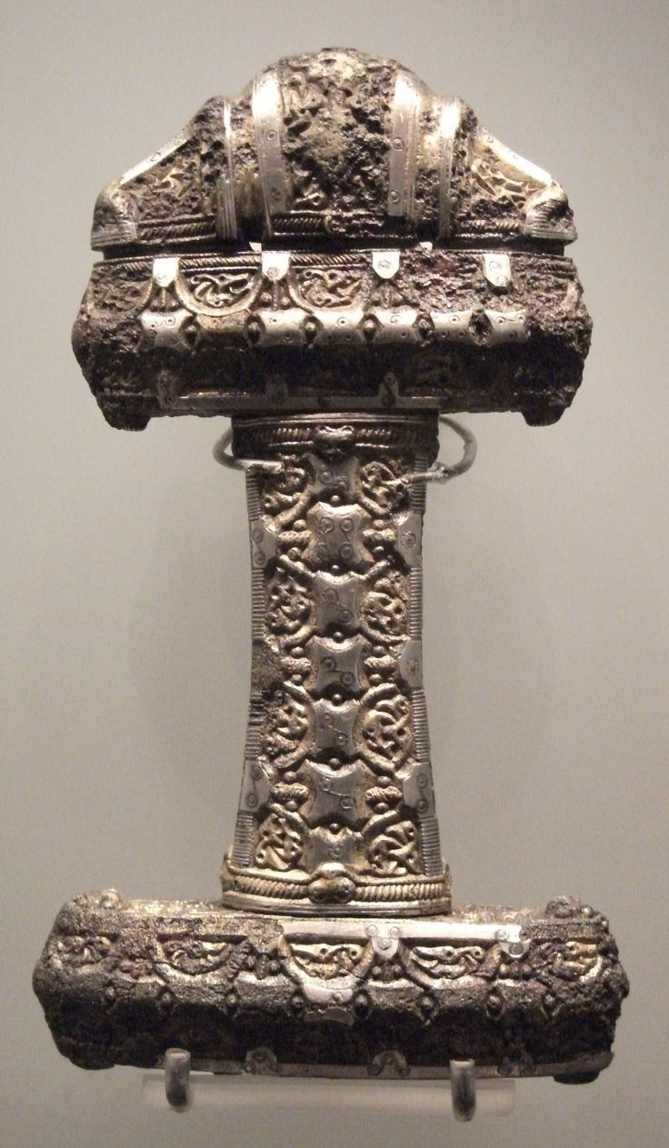 **Viking Sword Hilt, Museum of Scotland