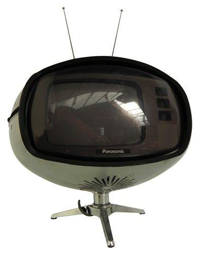 vintage: Panasonic TR-005 Orbital TV | 1970s MCM TV