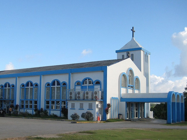 Our Lady of Lourdes - Yigo, Guam      this is where we got married!10/14/1972