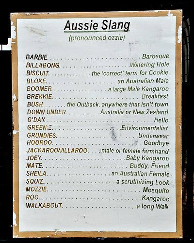 *Not an e-book but a useful reference for my next story that may or may not have an Australian in it.