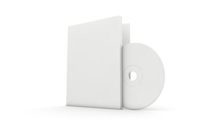 Blank DVD CD Cover