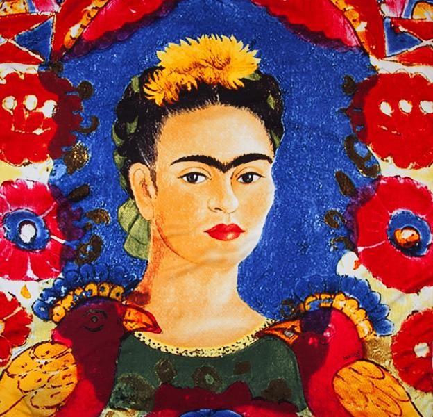 Pompidou Malaga Frida Kahlo www.posada-laplaza.com