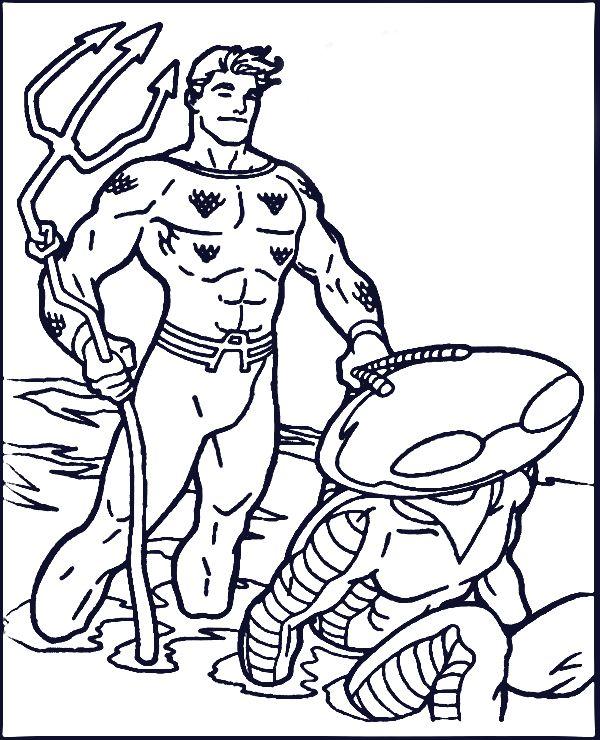 Aquaman Coloring Pages Printable Superhero Coloring Superhero Coloring Pages Coloring Books
