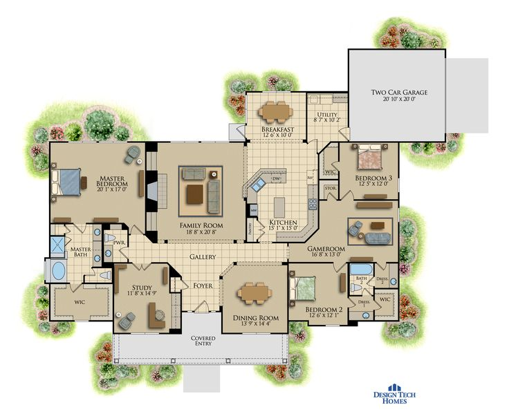 34 best home plans images on pinterest | square feet, design tech