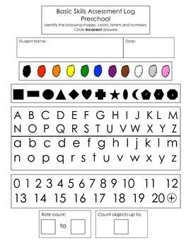 color assessment worksheet for kindergarten shapes recognition practiceworksheets the star and. Black Bedroom Furniture Sets. Home Design Ideas