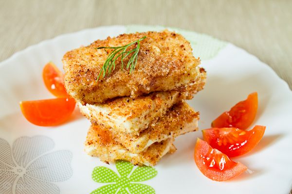 Cheese in batter