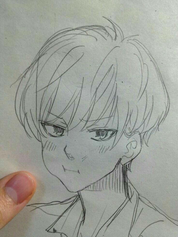 Anime Art Simple Anime In 2020 Anime Drawings Sketches Anime Drawings Art Sketches