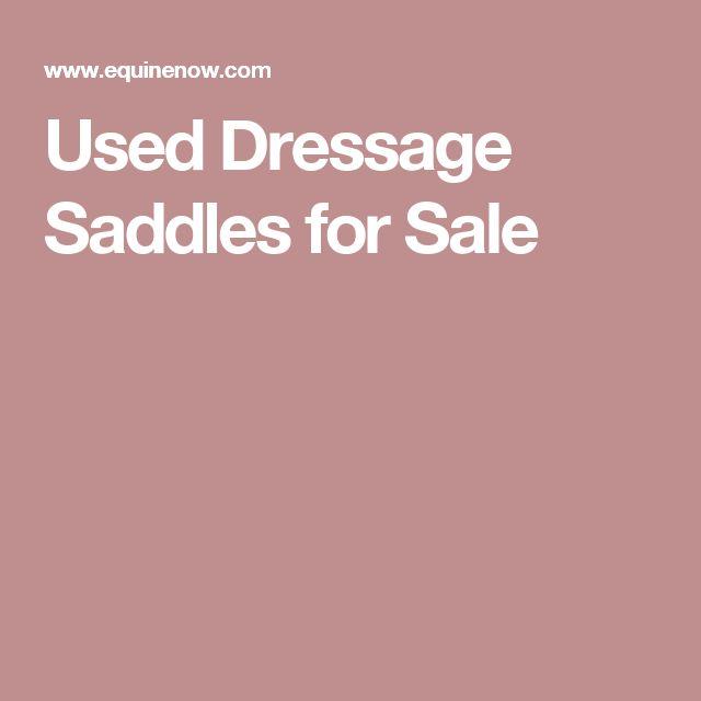 Used Dressage Saddles for Sale